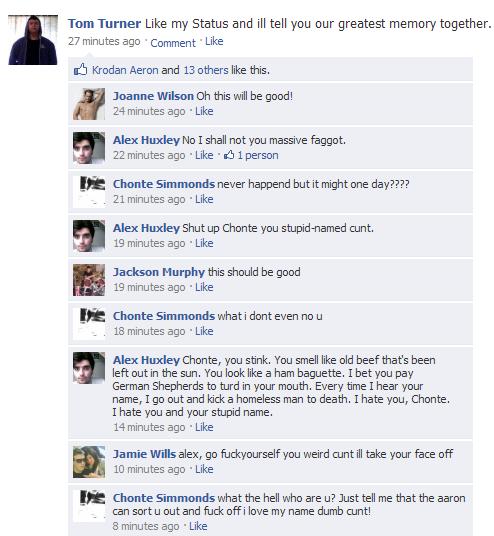 Troll Facebook Status Facebook Trolling 3